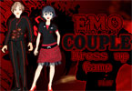 Emo Couple Dress Up Game