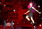 Emo Fairy Dress Up Game