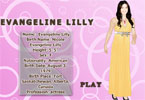 Evangeline Lilly Dress up Game
