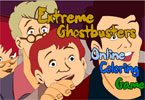 Extreme Ghostbusters Online Coloring Game