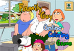 Family Guy Online Coloring Game