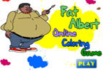 Fat albert online coloring game for Fat albert coloring pages