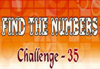 Find the Numbers - 35