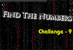 Find the Numbers Challenge - 9