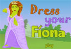 Fiona Dress Up Game
