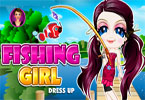 Fishing Girl Dress Up