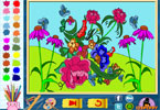 blommor online mlarbok
