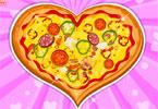 verse hearted pizza