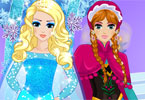 Anna Elsa Frozen Princess