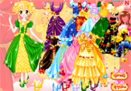 Full Colors of Princess Dress