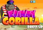 Funny Gorilla Dress Up