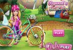 Girls Fix It Rapunzel's Bicycle