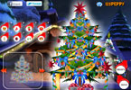 scintillante x-mas albero decorazione