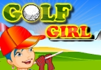 menina de golfe vestir
