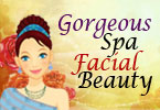 Gorgeous Spa Facial Beauty