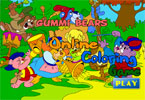Gummi Bears Online Coloring Game