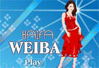 Haifa Weiba Dress up Game