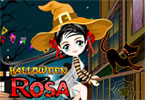 Halloween Rosa