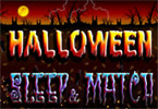 Halloween Sleep and Match