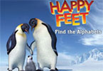 Happy Feet encontrar os alfabetos