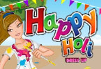 Happy Holi vestire