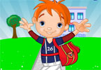 glcklich Schule Boy Dress Up