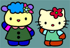 komik Hello Kitty renk
