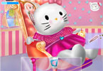 hello kitty lekarz ucho