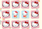 hello kitty memory spel