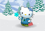 hello kitty Zima Dressup