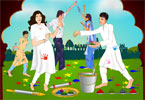 Holi Day Jolly Day