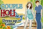 Holiday Couple Dress Up Game