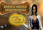 Honey and Orange Chicken Stick