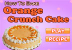 How To Bake Orange Crunch Cake