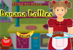 How to Make Banana Lollies