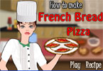 Comment faire du français pain Pizza
