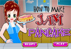 How to Make Jam Pancake