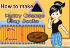 How to Make Nutty Orange Flap Jacks