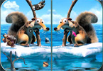 Ice Age 4 - individuare la differenza