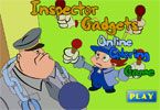 Inspector Gadgets Online Coloring Game