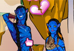 Jake and Neytiri in Perfect Harmony
