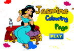 Jasmine Pages de coloration
