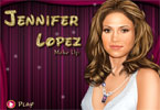 Jennifer Lopez Promi-Make-up