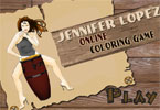 Jennifer Online Coloring Game