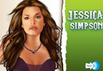 Jessica Simpson make-up