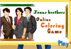 jeu en ligne de coloration de Jonas Brothers