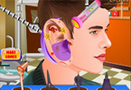 justin bieber infection de l\'oreille