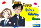 Cute Kare Kano Online Coloring Game