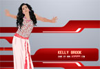 Jeux de habillent de Kelly Brook