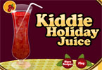 kiddie jugo de vacaciones